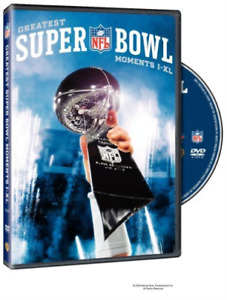 Nfl Greatest Super Bowl Moments DVD NEW