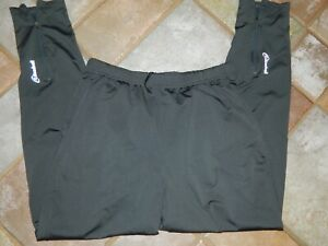 Men's Gray Cloudveil softshell jogging ski pants ankle zip drawstring Large Nice