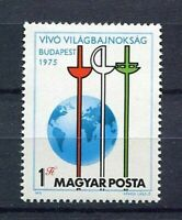 20499) Hungary 1975 MNH New Fencing - Fencing
