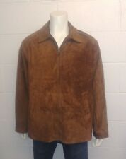 Ralph Lauren 100% Leather Jacket with Buckle sides and a Wool / Blend lining