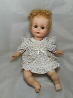 "Vintage Madame Alexander Doll Baby Genius 21"" Tall 1960's"