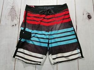 BILLABONG PLATINUM X Recycler Zero Gravity STRETCH Board Surf Shorts Mens Sz 30