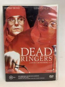 DEAD RINGERS rare Umbrella AU DVD cult 80s David Cronenberg horror movie