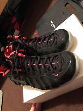 Nike Air Foamposite PRM SOLAR Rosso Pro Penny Hardaway Taglia 8 ottime condizioni