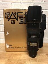 Nikon Nikkor Af-s 70-200mm F/2.8G IF Ed VR Zoom Lens Holy Trinity
