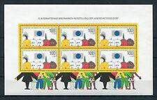 Bund Block 21 postfrisch 6 x 1472 Briefmarken Ausstellung der Jugend Düsseldorf