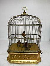 LARGE FRENCH SINGING BIRD AUTOMATION, TAXIDERMY BIRDS, AUTOMATON, AUTOMATA C1890