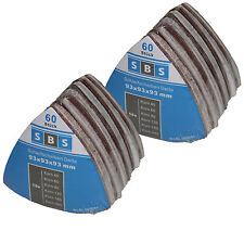 120 Klett Schleifscheiben Deltaschleifer Schleifpapier 93mm Korn 40-240 2x101428