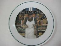 "Guy Buffet L'etalage Collection ""The Fish Man"" Plate, 7 3/4"" D, Made In Japan"