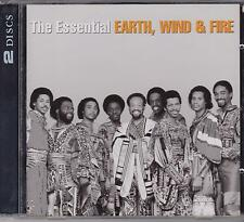 THE ESSENTIAL EARTH WIND & FIRE on 2 CD's - NEW -
