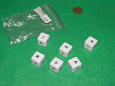 Operations Dice- set of 6- hours of learning- 75% off retail