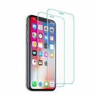 2 Protector de Pantalla Cristal Vidrio Templado Solo Para Apple iPhone XR 2018