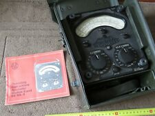 Vintage Universal AVO Meter Model 8 Mk. 4 Excellent Condition untested Avometer