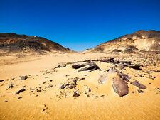 Fototapete Wüstenlandschaft Black Desert Tapete XXL 400 x 280 cm NEU TOP