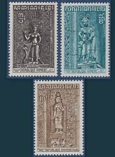 CAMBODGE KHMERE N°332/334** Temple d'Angkor 1973, KHMER CAMBODIA Sc #312-14 MNH