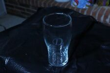 "Initial on Glasses - Drinking Glass Initial ""H"""