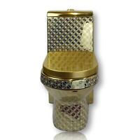 Goldene Toilette Gold Exklusiv Luxus WC Klo Stand Badezimmer Bad
