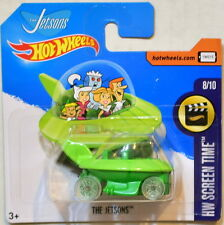 HOT WHEELS 2017 HW SCREEN TIME THE JETSONS #8/10 GREEN SHORT CARD