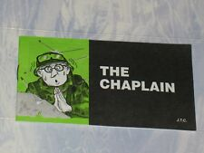 THE CHAPLAIN   CHICK CHRISTIAN/ GOSPEL TRACT  2005    JACK CHICK PUBLICATIONS