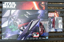 Star Wars The Force Awakens First Order TIE Fighter with 2 Pilot Figures