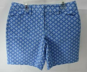 """LAND'S END MID RISE 7"""" SHORTS SZ 4 NEW WITH TAG"""