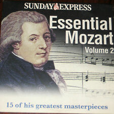 Essential Mozart Volume 2 - 15 Of His Greatest Masterpieces (CD)
