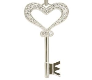 Elector 1539 magnetix Heart Key of Love Necklace