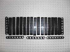 LEGO Technic - 20x Lochbalken Lochstange Liftarm beam 1x7 schwarz / black 32524