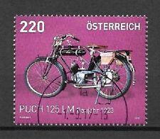 Österreich Mi.Nr. 3258 (2016) gestempelt/Motorräder (Puch 125 LM)