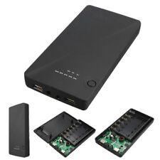 Universal 5 V 9 V 12 V 6 X 18650 Doble USB Portátil Batería Banco de Alimentación Externo