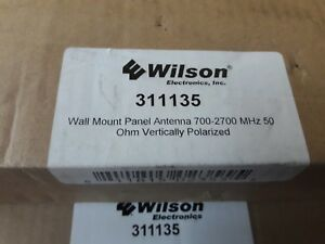 weBoost (Wilson) 311135 (301135) 50 Ohm, (N) Wide Band Wall Mount Panel Antenna