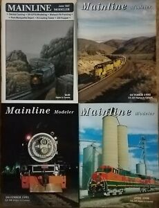 Mainline Modeler Magazine 4 issues