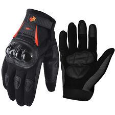 Motorcycle Power Sports ATV Motocross Dirt Bike Street Bike Gloves Red/Black