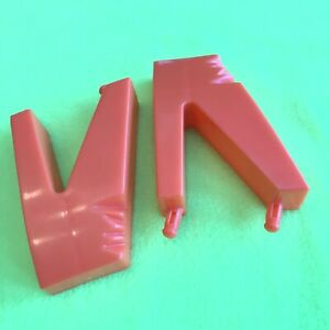 Piranha Panic Game Replacement Pieces Parts 2 Orange Support Legs For Board 2005