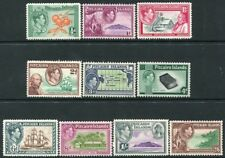 PITCAIRN ISLANDS-1940-51 Set to 2/6 Sg 1-8 MOUNTED MINT V22377