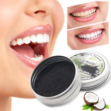 Teeth Whitening Powder Black Charcoal Activated Organic Pure Tooth Paste Natural