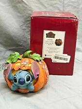 New ListingJim Shore Disney Traditions Halloween Stitch O' Lantern 6007080 Damaged