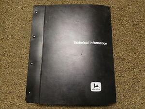 John Deere 6622 Combine Technical Manual - TM-1238