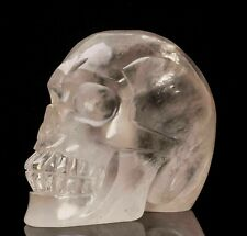 Crâne en cristal de roche de 959 gr , minéraux , lithothérapie ; collection