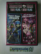MONSTER HIGH DEUX FILMS FRIDAY NIGHT FRIGHTS WHY DO GHOULS FALL IN LOVE  DVD