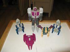 Transformers G1 Abominus Lot w Hun-Grrr Blot-Cuttthroat & Rippsnapper w Sheild