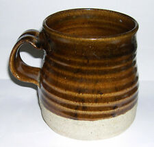 Martin Homer Studio Pottery - Stoneware Large Pulled Handle Vessel - Stamped.