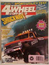 PETERSENS 4 WHEEL & OFF ROAD MAGAZINE July 1988 Boss Bronco Shockwave RARE VHTF