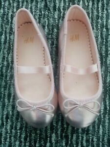 Girls Dolly Shoes From H And M Size 8  (24) Worn Once