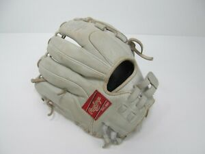 Rawlings Baseball Glove GGEFP125BW White 12-1/2 In Gelite  RHT