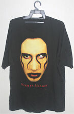 Vintage 1997 Marilyn Manson Rock Metal Industrial Tour Promo Concert T-Shirt