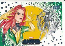 #37 PHOENIX 2020 Upper Deck Marvel Anime X-MEN
