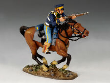 KING & COUNTRY THE REAL WEST TRW001 MOUNTED TROOPER WITH RIFLE MIB