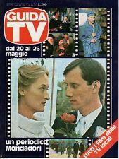 """rivista GUIDA TV ANNO 1979 NUMERO 20 SCENE DE """"OLOCAUSTO"""""""