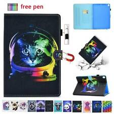 "For iPad 10.2 2019 11 2020 9.7"" 2018 10.5 Mini Magnetic Leather Smart Case Cover"